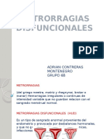 Expo Metrorragias Disfuncionales