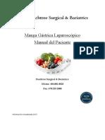 Gastric Sleeve Manual Spanish