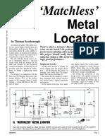 Metal Detector Homemade