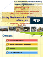 1 Ir Mohtar Bin Musri - Raising the Standard of MEWP Safety in Malaysia