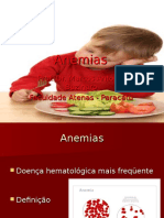 Anemia Ferropriva e Megaloblástica