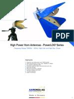 Horn Antenna PowerLOG