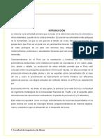Geología - Trabajo Vista a Fabrica de Trujillo
