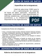 AdDB U1-Perspectiva Practica de La Admon de BD