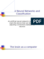 09 Artificial Neural Networks and Classification