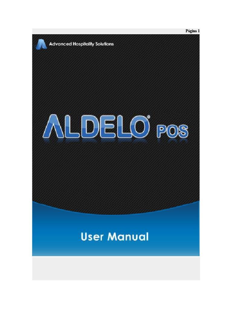 Aldelo Manual Espanol