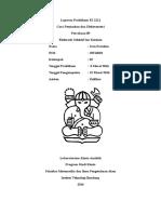 Laporan Praktikum Elektoda Selektif Ion Ca