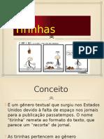 Tirinhas Conceito - Características, Discussão