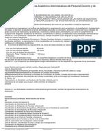 Reglamento Evaluación Horas Académico-Administrativas Del Personal Docente y de Investigacion