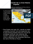 Conformación Territorial de La Nueva España