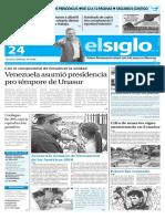Edición Impresa El Siglo 24-04-2016