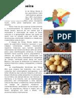 Cultura Mineira