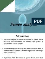 Final Seminal Fluid Analysis