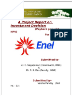 55602526 a Project Report on Investment Decision Final