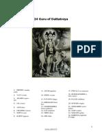 24 Guru of Datta