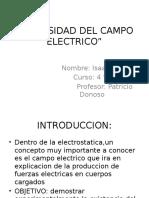 Intensidad Del Campo Electrico