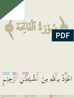 Surah Al Fatiha Tajweed Series