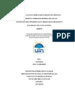 Pengelolaan Dana Bergulir Syariah di BMT dan Pengaruhnya Terhadap Kinerja Keuangan ( Studi pada BMT Penerima Dana Bergulir Syariah Kota Tangerang Selatan)