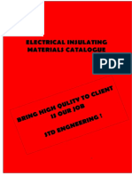 Insulating material Catalogue
