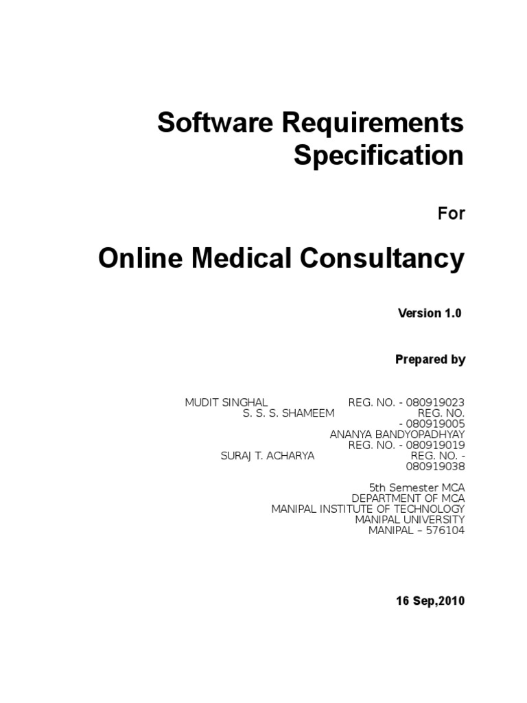 Software Requirements Specification Template Java Virtual Machine