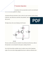 Basic Npn and Pnp Transistor Operation
