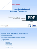 Heavy Duty Industrial Slabs and Pavements FRANK FILIPPONE