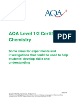Aqa Science Igcse Chem w Support Exp Inv
