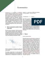 Econometric s