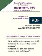 Fundamental of Management Chap 17
