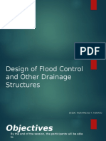 Design of FC and Other Drainage Structures