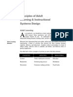 Principles of Adultl Learning