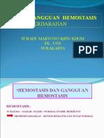 Kuliah 2013 Hemostasis Perdarahan FK UNS