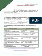 Atividades Discurso Direto e Discurso Indireto Atividades 6 Ano (2)