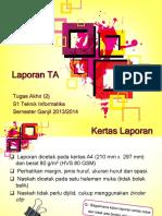 TA(2) Laporan