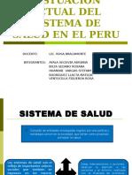 SISTUACION ACTUAL DEL SISTEMA DE SALUD EN EL PERU