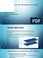 micro and membrane reactor