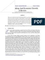 4.2- Islamic Banking and Economic Growth a Review