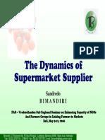 The Dynamics of Supermarket Supplier Bimandiri