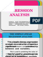 Stat Regression Report