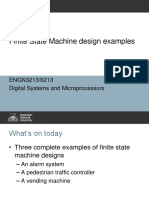 In Class - Finite State Machine Examples