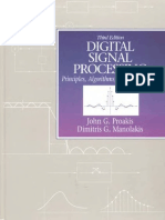 Editable Digital Signal Processing Principles Algorithms and Applications Third Edition