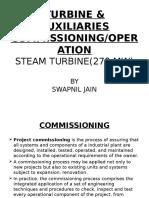 Turbine Commissioning