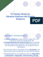 Genesis Histórica Estado Moderno