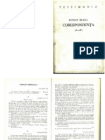 Corespondenta Lucian Blaga - Cornelia Brediceanu