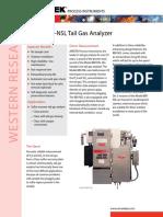 AMETEK 880 Tail Gas Analyzer6