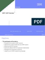 ERP SAP Overview