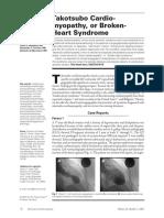 Brokenheart Syndrome