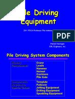 2011 Pdca Pile Driving Equipment