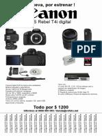 Combo Canon A4