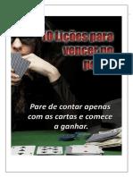 10 Licoes Para Vencer No Poker PokerNaChapa.com.Br